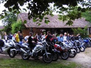 hebergements pour groupes de motos