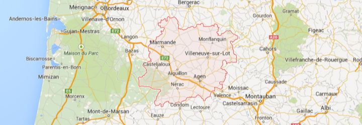 Accueil de groupe dans le Lot et Garonne