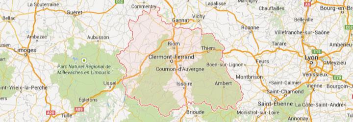 Accueil de groupe dans le Puy de Dôme