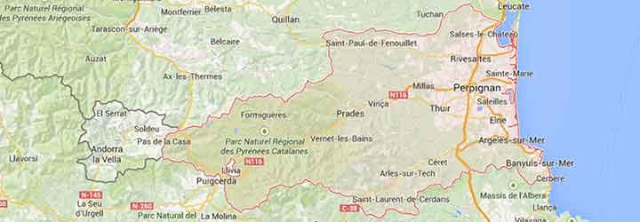 Grands Gites, gites de groupe, villages de vacances, hotels, camping recevant des groupe dans les Pyrenées Orientales Andorre