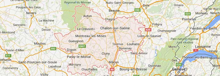 Grands Gites, gites de groupe, villages de vacances, hotels, camping recevant des groupe en Bourgogne dans la Saone et Loire