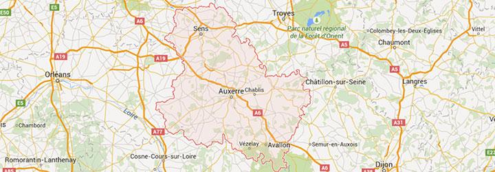 Accueil de groupe en Bourgogne dans l' Yonne