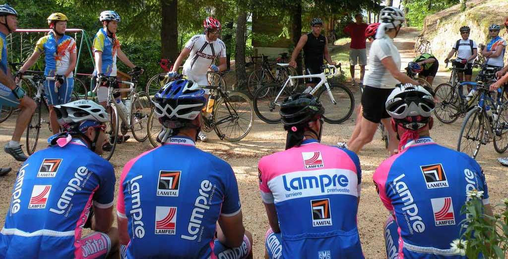 gite pour groupe de vélos