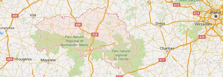Accueil de groupe dans l' Orne en Normandie