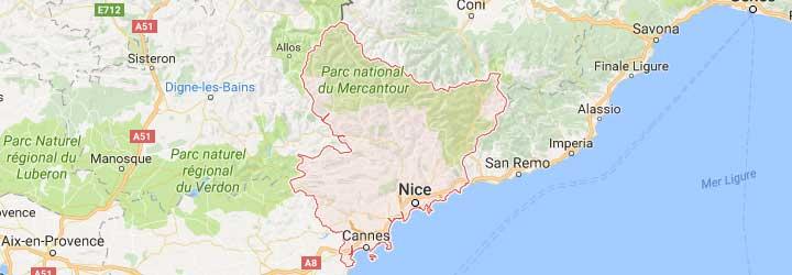 gites de groupes,campings sur la cote d'azur pres de Nice