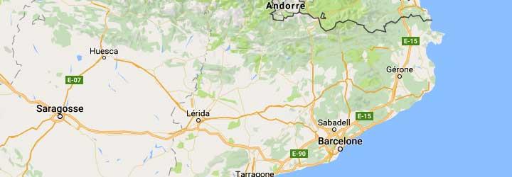 hotels pour groupes de vélos, de randonneurs, d'amis, en catalogne barcelone