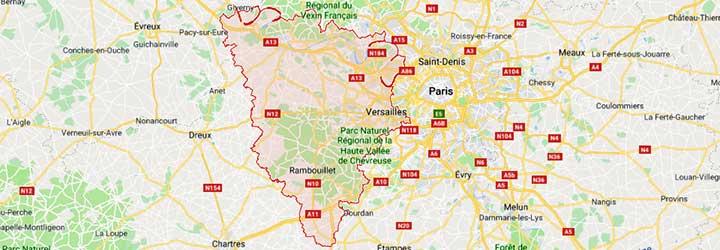 gites et hotels pour feter un anniversaire, un mariage, ou organiser un séminaire dans les Yvelines